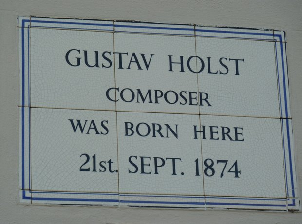 Gustav Holst birthplace Cheltenham