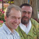 John Brunning and Pavarotti