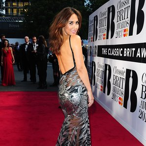 Myleene Klass at Classic Brit Awards 2013