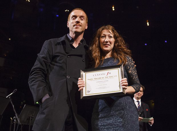 Sam Mendes Damian Lewis Music Teacher of the Year