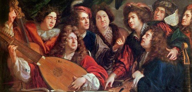 Guitarist Robert de Visee