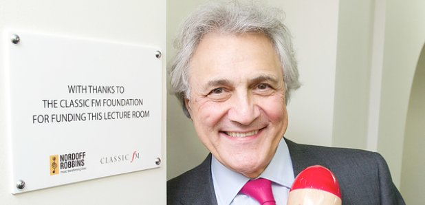 john suchet nordoff robbins lecture room