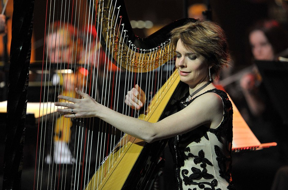 Catrin Finch at Classic FM Live Cardiff 2014