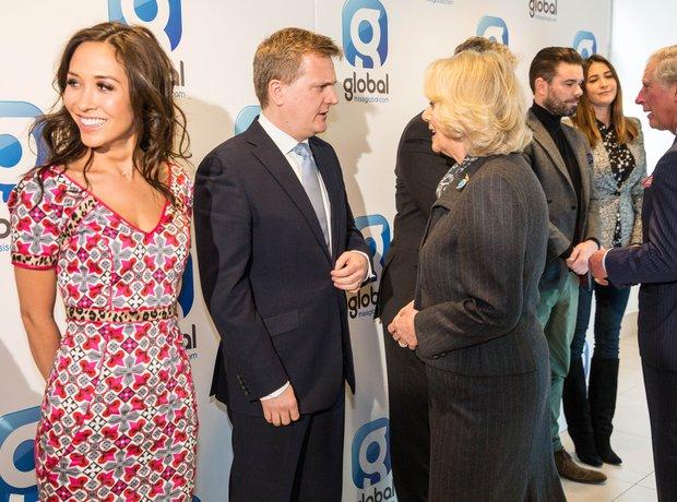 Myleene Klass and Aled Jones meet The Duchess