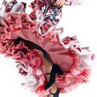 Spanish flamenco dancer