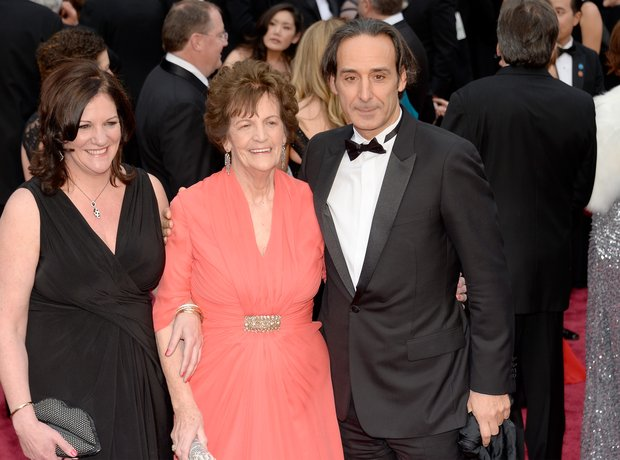 Alexandre Desplat at the Oscars 2014