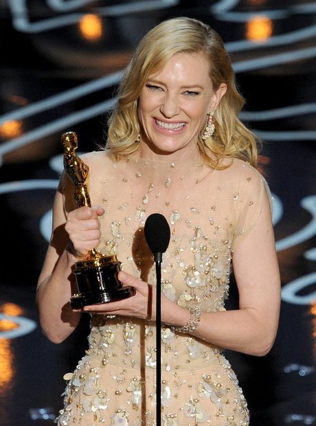 Cate Blanchett at the Oscars 2014 Winner