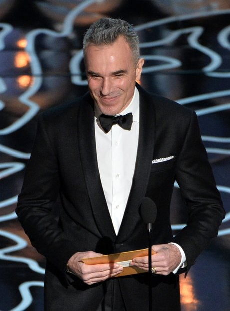 Daniel Day-Lewis Oscars 2014 on stage