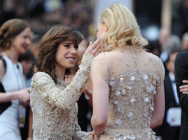 Sally Hawkins and Cate Blanchett Oscars 2014