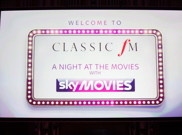 Classic FM: A Night At The Movies, with Sky Movies