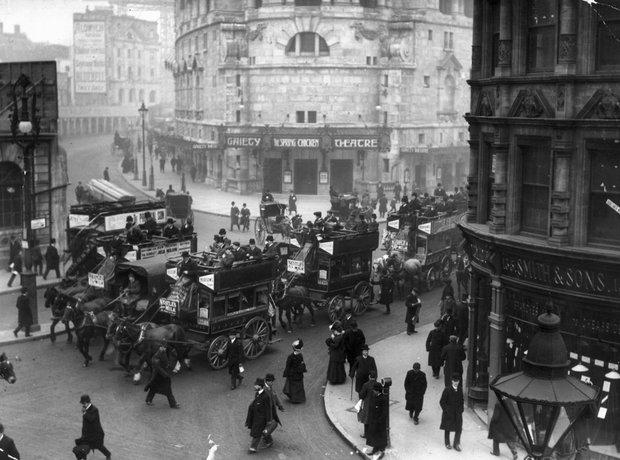 London Strand 1906