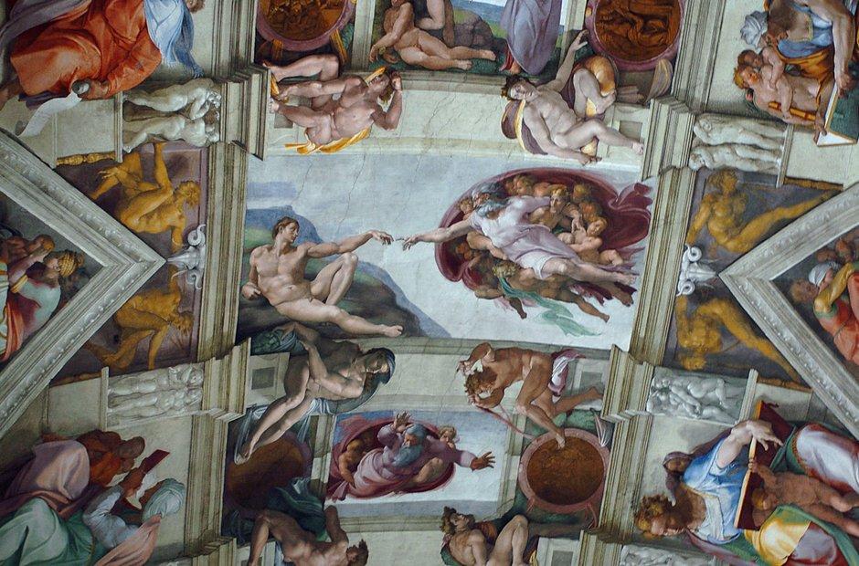 Sistine chapel Vatican Michelangelo