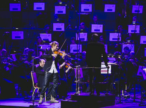 David Garrett at Classic FM Live 2014