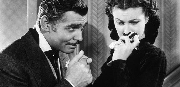 Gone with the Wind Clark Gable Vivien Leigh Rhett