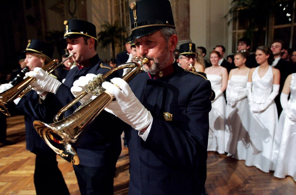 Vienna Johann Strauss Ball Elmayer School
