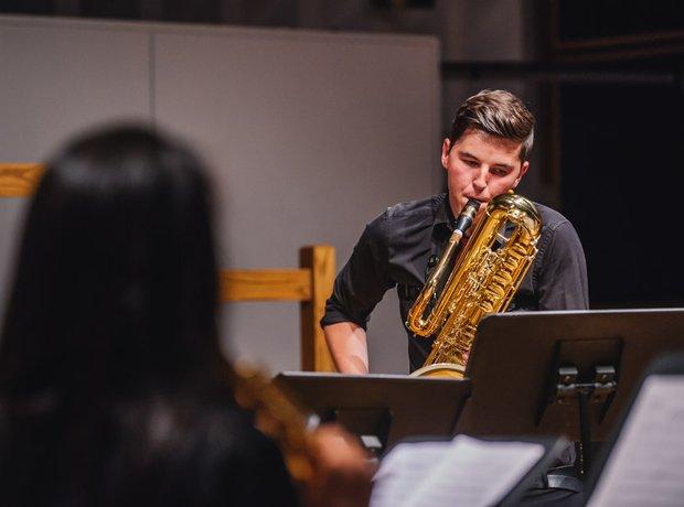 The Dragon Saxophone Choir