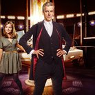 Peter Capaldi and Jenn Coleman in Doctor Who