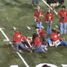 trombones fall over