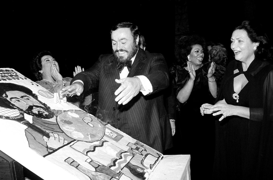 Pavarotti in pictures: the most iconic images of t