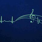 Music ECG electrocardiogram