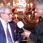 Sir James Galway and John Suchet
