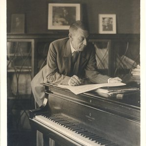 Rachmaninov at the piano