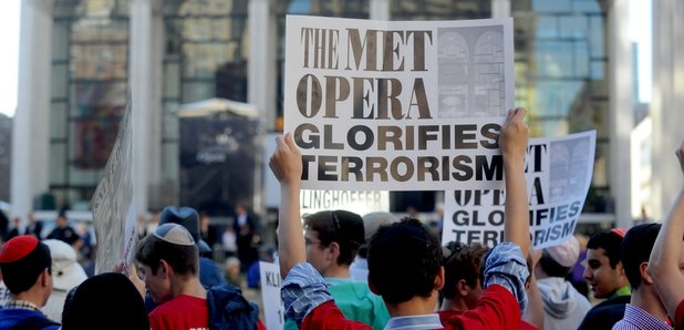Klinghoffer New York Met Protests