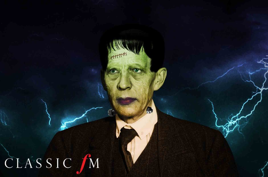 Great composers in Halloween costumes