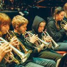 The Blue Coat School Brass Band School Proms 2014