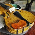 polish matchstick violin