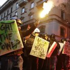 Protesters clash with police at La Scala premiere