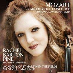 Rachel Barton Pine Mozart Violin Marriner