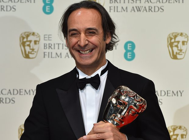 Alexandre Desplat at the Baftas 2015