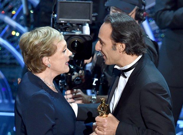 Julie Andrews and Alexandre Desplat