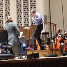 Vasily Petrenko rehearses with the RLPO