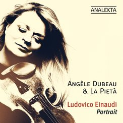 Angele Dubeau Pieta Einaudi Portrait