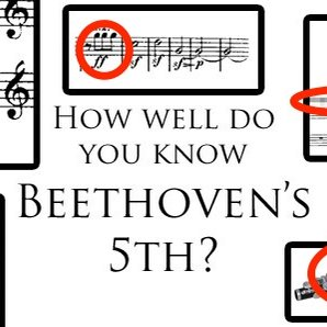 How well do you REALLY know Beethoven's 5th Sympho
