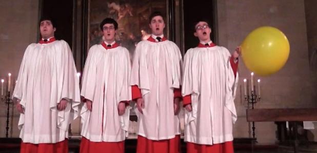 kings college choir on helium