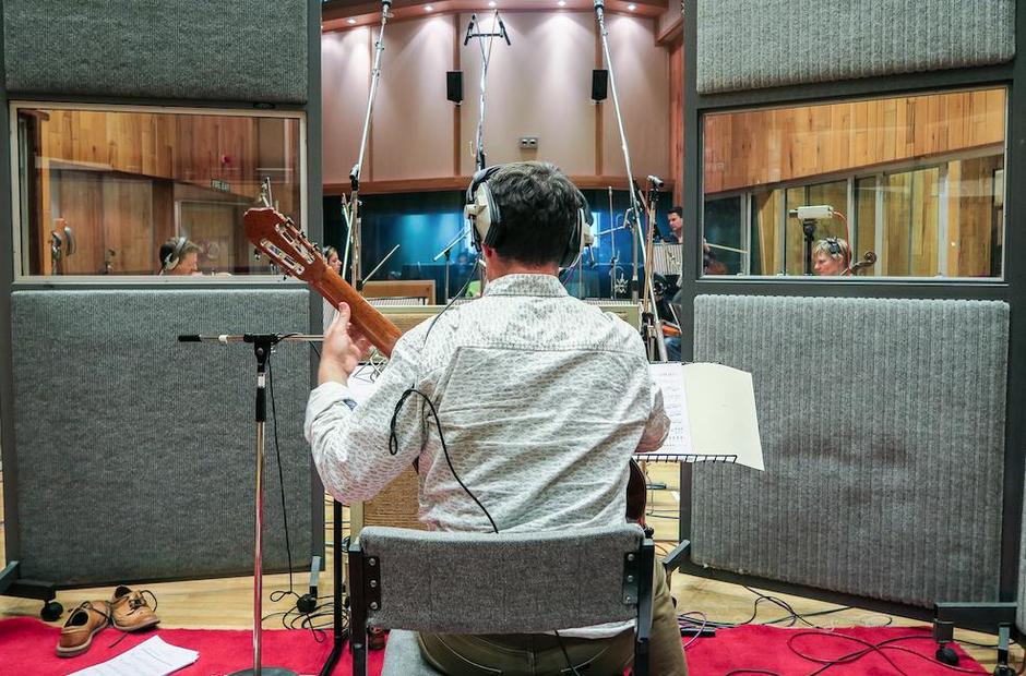 Craig Ogden an Friends recording
