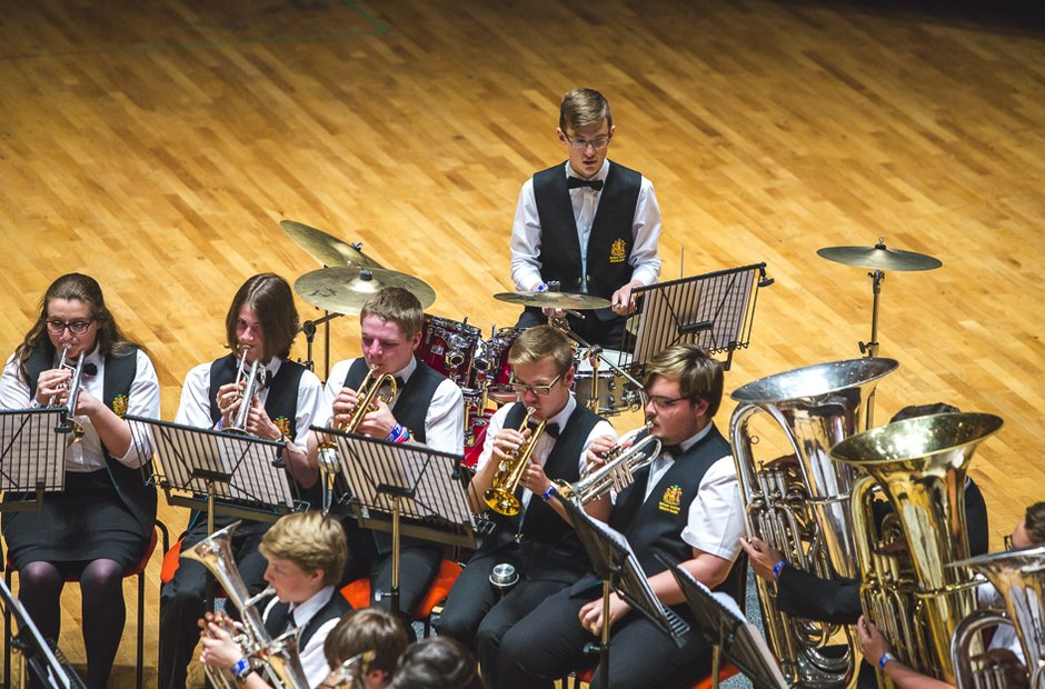 Wigan Youth Brass Band