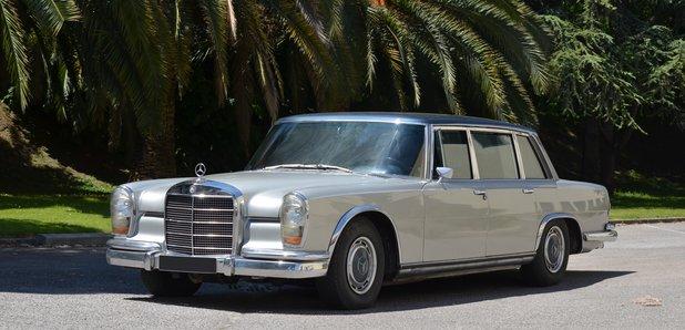 Maria Callas Mercedes Benz Limousine