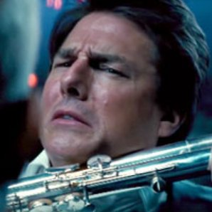 Tom Cruise bass flute sniper rifle