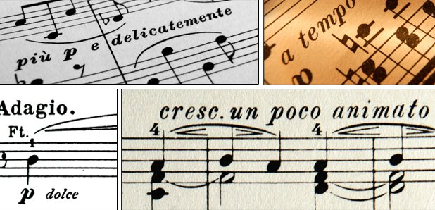 Worksheets In Music What Does Allegro Mean how well do you know these italian musical terms classic fm
