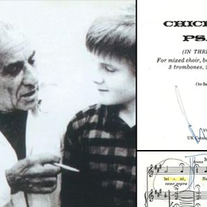 Aled Jones Leonard Bernstein score
