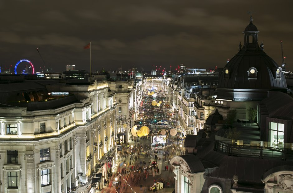 Regent Street Christmas lights
