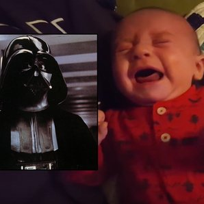 imperial march soothes baby