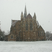 Image 1: St Matthew's Church Northampton snow