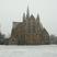 Image 1: St Matthew's Church Northampton snow
