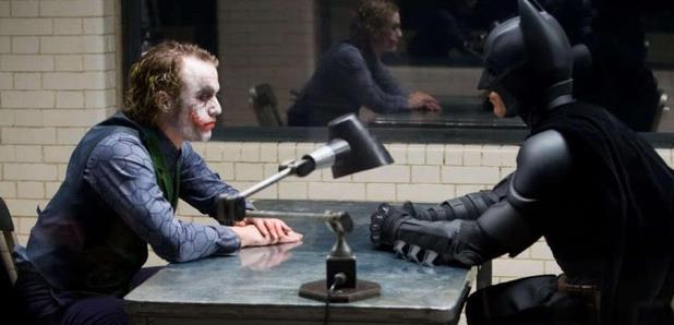 Batman Joker Heath Ledger Christian Bale