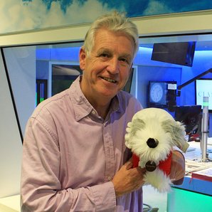 Bach the Dog and Nicholas Owen